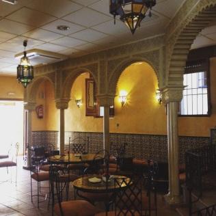 Dar al-Chai, le salon de thé marocain de Tolède - ©Chloé Chateau
