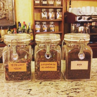 Les thés de la Granada Tea Company au salon de thé Dar al-Chai à Tolède - ©Chloé Chateau