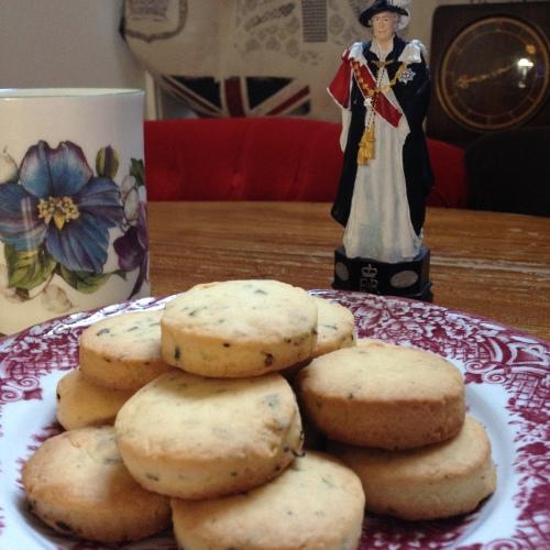 Countess Grey Tea and Lavender shortbreads - ©Chloé Chateau