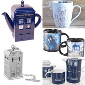 Whovian Tea Time : prendre le thé avec Doctor Who et le Tardis - DR