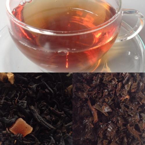 Tea test thé de Noël Luxury de Betjeman and Barton - ©Chloé Chateau