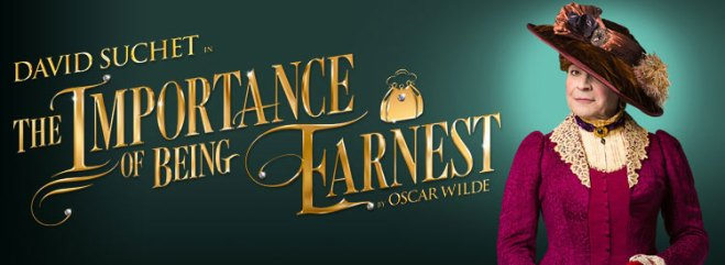 The Importance of Being Earnest by Oscar Wilde, starring David Suchet as Lady Bracknell