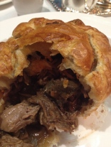 Steak and Guinness pie at Rules restaurant in London - ©Chloé Chateau