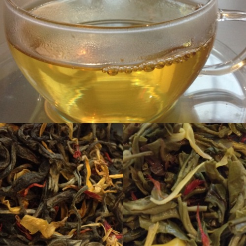 Tea Test Satsuma Yuzu de Dammann Frères - ©Chloé Chateau