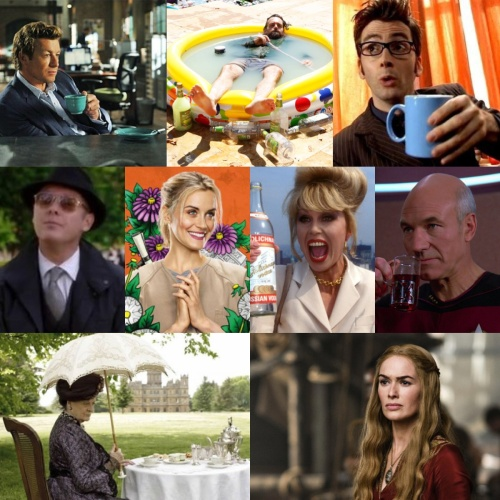 Tea in Telly: which tea for which TV Serie?