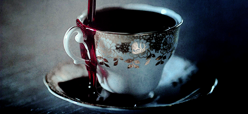 Penny Dreadful bloody cup of tea