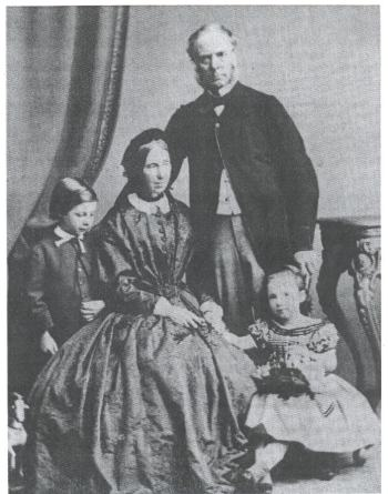 Robert Fortune and Family c.1866 - DR