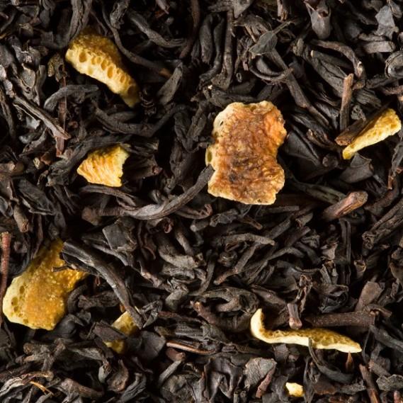 Thé noir Orange sanguine de Dammann Frères