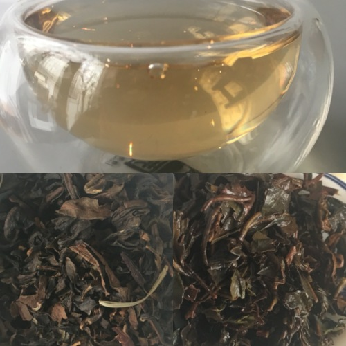 Tea test Le China White Downy Oolong Yuma Cha de T pour Thé - ©Chloé Chateau