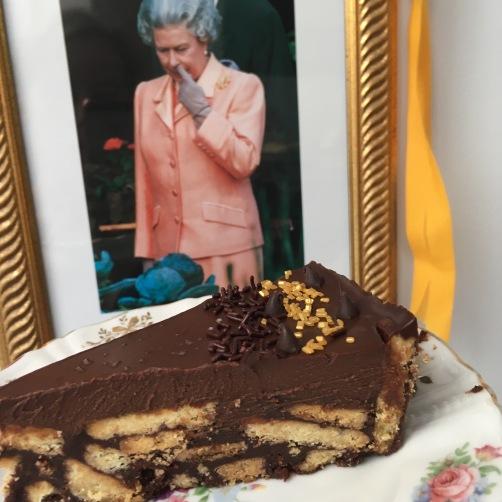 Darren McGrady's Chocoalte Biscuit Cake recipe - ©Chloé Chateau
