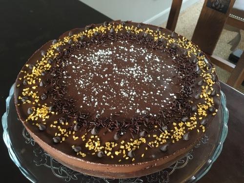 Le Chocolate Biscuit Cake du Tearoom à Tours d'après la recette du chef d'elizabeth II - ©Chloé Chateau