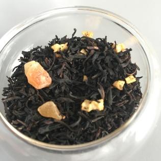Le thé noir parfumé Tourbillon de Dammann Frères - ©Chloé Chateau