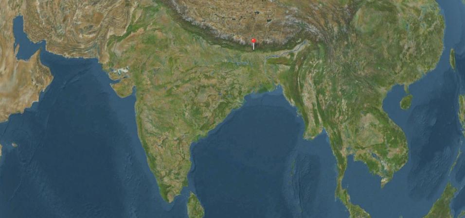 Le thé du Darjeeling pousse sur les contreforts de l'Himalaya en Inde - DR