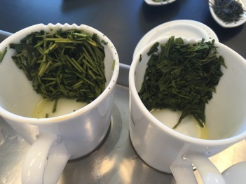 Dégustation de thés verts japonais chez Dammann - ©Chloé Chateau