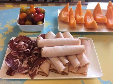 Le déjeuner au thé prévu par Dammann pour les blogueurs - ©Chloé Chateau