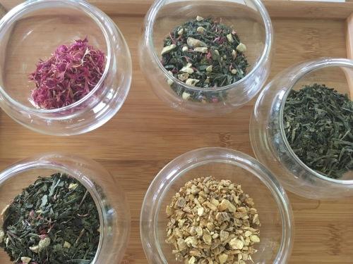 Les arômes qui composent le thé Miss Dammann - ©Chloé Chateau