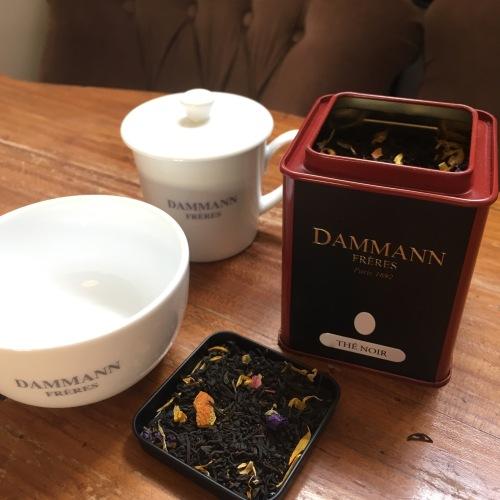 Mon premier thé parfumé, le Swan Goddess by Modestea