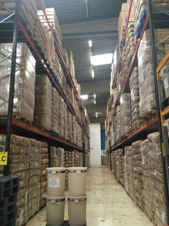 L'usine Dammann Frères gère 800 tonnes de thé par an - ©Chloé Chateau