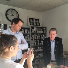Pierre Merlanchon, responsable marketing de Dammann Frères, a répondu à nos questions sur la marque - ©Chloé Chateau