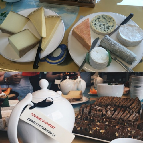 Accords fromage-thé du Dammann Day - ©Chloé Chateau/Anaïs d'Anthropophagie.com