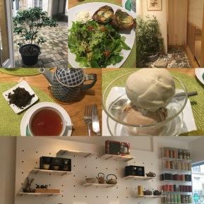 Déjeuner au thé à L'Essence du thé de George Cannon - ©Chloé Chateau