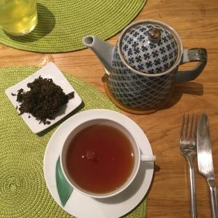 Dégustation d'un thé noir de Corée à L'Essence du thé de George Cannon - ©Chloé Chateau