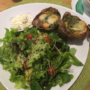 Cuisine au thé à L'Essence du thé de George Cannon : les timbales saumon-épinards - ©Chloé Chateau