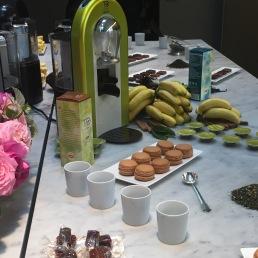 TOxPHP : accords thés-macarons créés par Kurush Bharucha et Pierre Hermé - ©Chloé Chateau