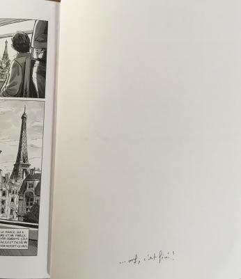 Dédicace de Haytham par Nicolas Hénin au Mans
