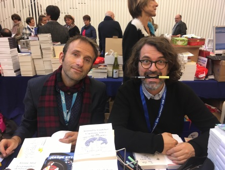 Jérôme Attal et Arnaud Le Guilcher à La 25e heure du livre du Mans - ©Chloé Chateau