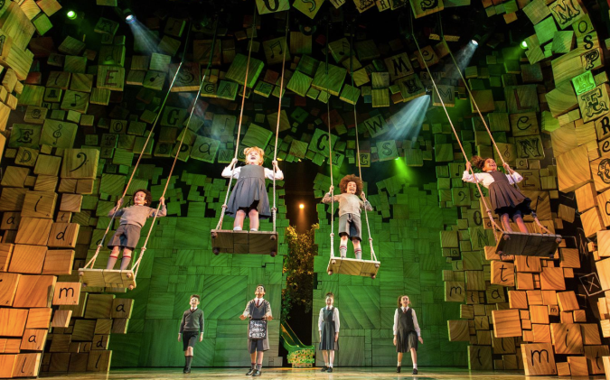 Matilda the musical London pics