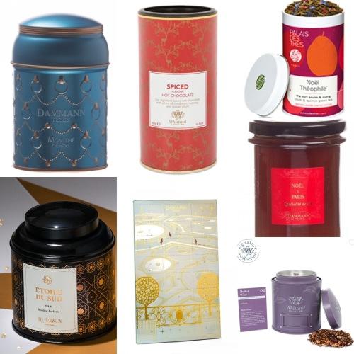 Christmas tea selection