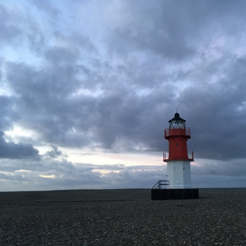 Lighthouse in Point of Ayre, Isle of Man