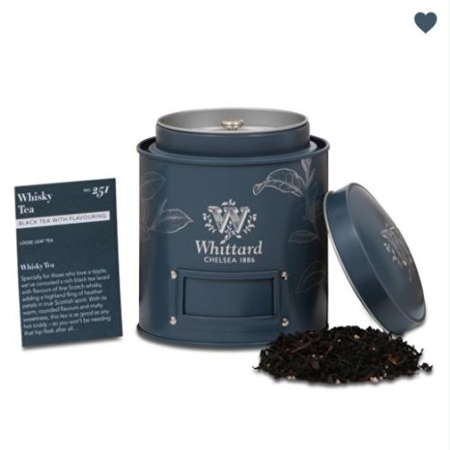 Coup de cœur : le Whisky tea de Whittard of Chelsea