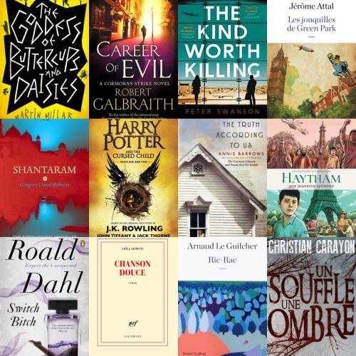 Top 15 livres 2016
