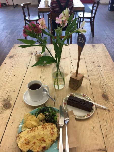Lunch at Noa's Bakehouse in Douglas, Isle of Man