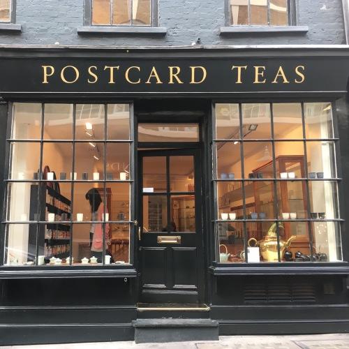 La boutique Postcard Teas à Londres