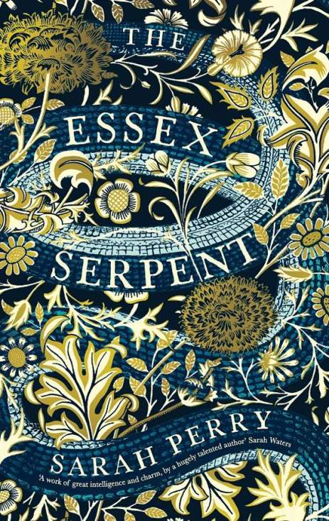 Sarah Perry, The Essex Serpent - Waterston blue limited edition