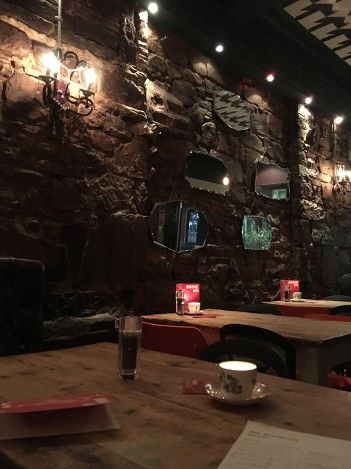The Blackbird restaurant in Edinburg - ©Chloé Chateau