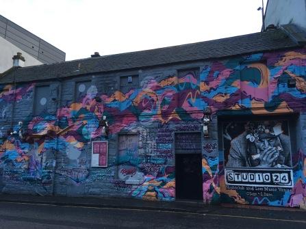 Street art in Edinburg - ©Chloé Chateau