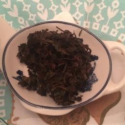 Darjeeling Second Flush Campagne de thé après infusion