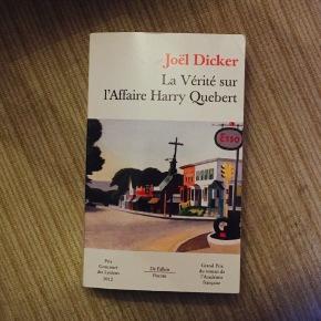 La Vérité sur l'Affaire Harry Québert de Joël Dicker