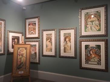 Glasgow-Kelvingrove Art Gallery and Museum - Mucha exhibition November 2016