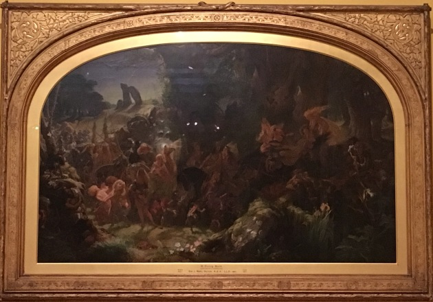 Glasgow-Kelvingrove Art Gallery and Museum - The Fairy Raid by Paton