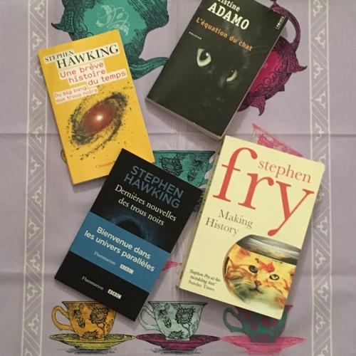 Books of 2017 spécial Cambridge Stephen Hawking, Stephen Fry, Christine Adamo