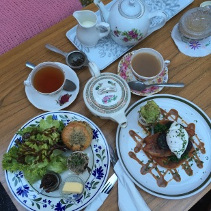 Breakfast at Edith's House, Crouch End, London