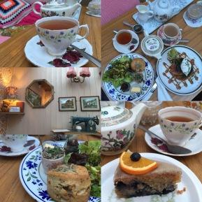 Edith's House tea room, Crouch End, London