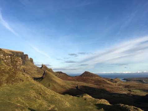 Entrance to the Cuiraing, Isle of Skye, Scotland