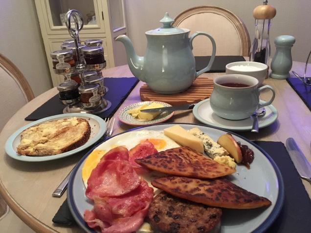 Scottish Breakfast on the Isle of Man, Scotland