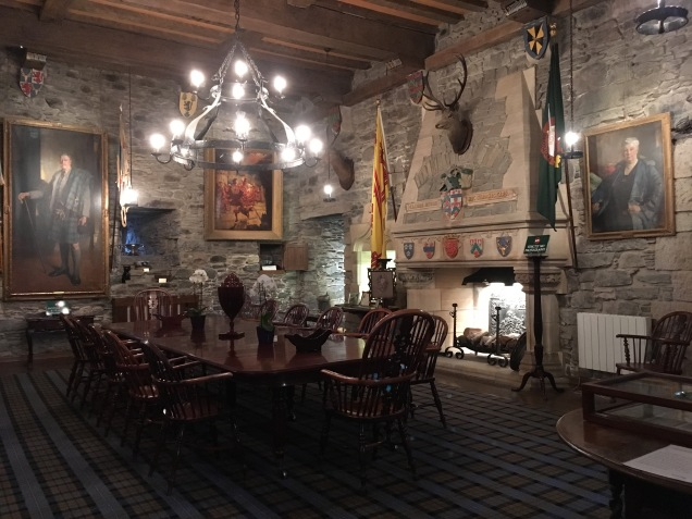 Inside Eilean Donan Castle, Scotland